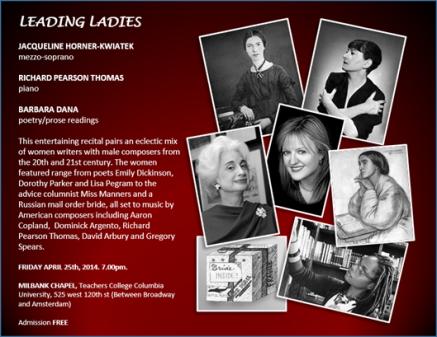 Leading Ladies Postcard copy